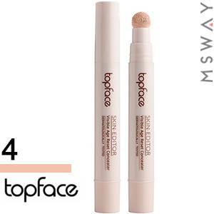 TopFace - Консилер жидкий для лица PT-466 Skin Editor Тон 04 rose beige светлый, фото 2
