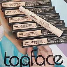 TopFace - Консилер жидкий для лица PT-466 Skin Editor Тон 04 rose beige светлый, фото 3