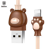 Кабель Baseus Lightning Bear Cable 1m, Brown (CALBE-12)