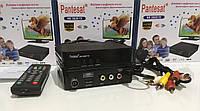 DVB-T цифрове Pantesat 3820 HD T2 5v+220v+AV з інтернетом