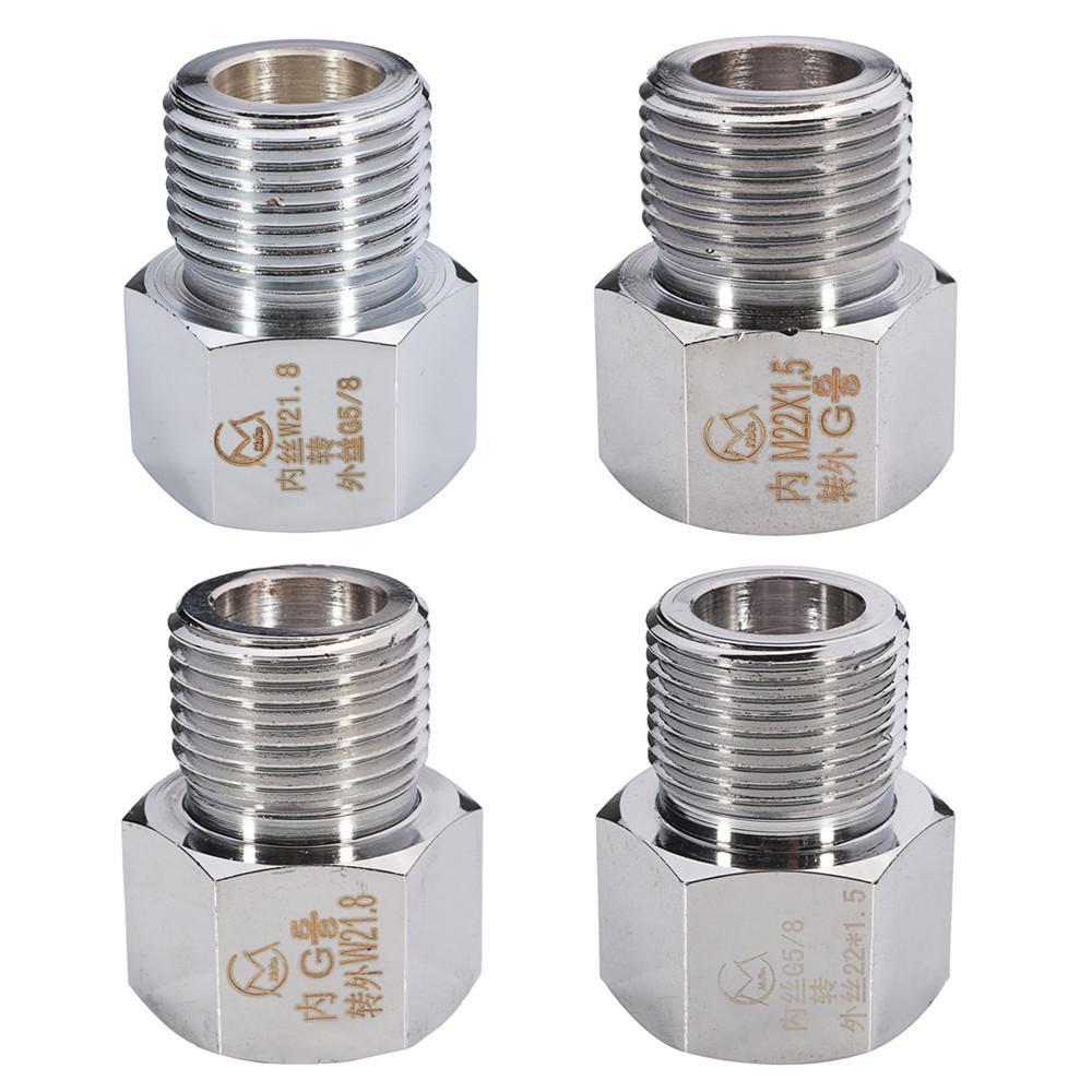 ХромированныйбаллонсуглероднымцилиндромАдаптер регулятора Коннектор Аквариум W21.8 До G5/8 M22x1.5 до 22x1.5 - 1TopShop