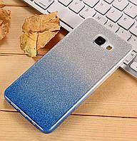 Чехол-накладка TOTO TPU Case Rose series Gradient для Samsung Galaxy A5 (2017) SM-A520 Silver / Blue