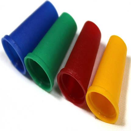 Мундштуки одноразовые цветные(Конус с бортом), фото 2
