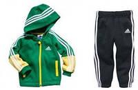"""Детский спортивный костюм """"Adidas"""", зеленый"""