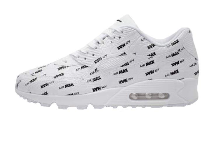 online store 00b8c aae11 Оригинальные кроссовки Nike Air Max 90 Premium White Black (Art.700155 103 )