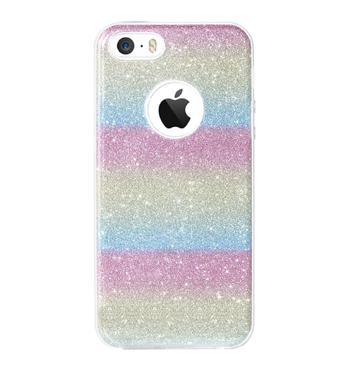Чехол-накладка TOTO TPU Case Rose series на IPhone 5 / 5s / SE Rainbow