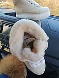Зимние женские кеды Sweety Red Leather , фото 5