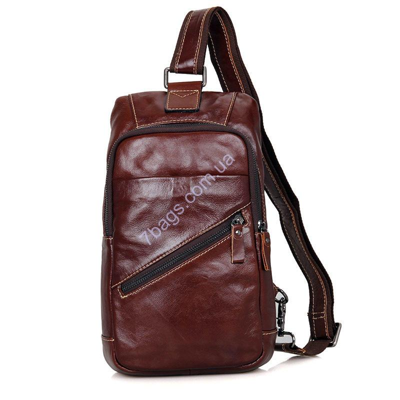 bdc0d50a9c21 Оригинальный кожаный рюкзак фабричного бренда John McDee: продажа ...