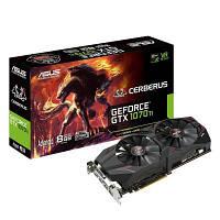Видеокарта ASUS GeForce GTX1070 Ti 8192Mb CERBERUS Advanced Edition (CERBERUS-GTX1070TI-A8G), фото 1