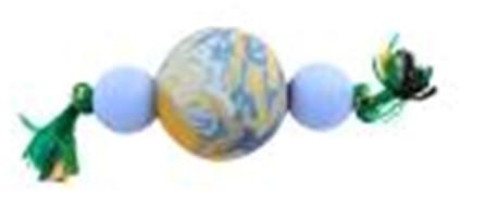 Гантеля из мячей А4 Sum-plast, игрушка для собак 12 см