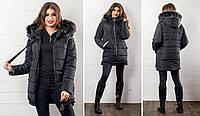 Женская куртка силикон 300 очень тёплая