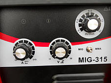 Сварочный инверторный полуавтомат EDON MIG/MMA-315 (NEW), фото 3