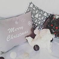 Подушка Merry Christmas к Новому году