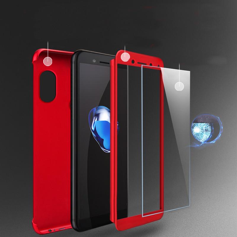 Bakeey™2in1Double Dip 360 ° Full Protection ПК с защитой экрана для Xiaomi Redmi Note 5 - 1TopShop