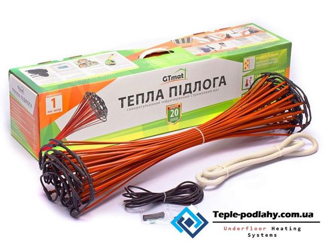 Стержневой   теплый пол GTmat S-107 (комфортный обогрев для дома ) 7 м.пог
