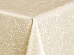 Скатерть 140*200 ткань Мати рис.1812 шампань