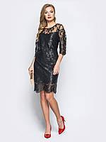 99dbab9d440 Гипюровое платье рукав три четверти в категории платья женские в ...