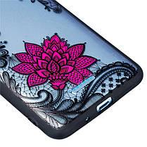 EnkayEmbossLaceFlowerударопрочныйPC TPU Задняя обложка Защитный Чехол для Xiaomi Redmi 6/Redmi 6A - 1TopShop, фото 3