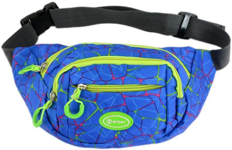 Поясная сумка Traum 7019-61, мужская, синий