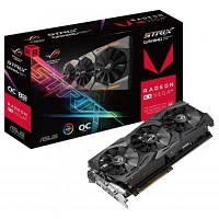 Видеокарта ASUS Radeon RX Vega 64 8192Mb ROG STRIX OC GAMING (ROG-STRIX-RXVEGA64-O8G-GAMING), фото 1
