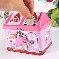 CuteKidsКанцелярскиеподаркиТворческийдом Дизайн Копилка Деньги Сохранение запасных частей хранения Коробка - 1TopShop