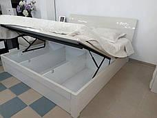 Спальня Тиффани (Бежевый) (1,80 м.) с подъемным механизмом (раскомплектовуется), фото 2