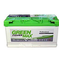 Аккумулятор Green Power Max 95 А.З.Е. со стандартными клеммами  | R, EN850 (Европа)
