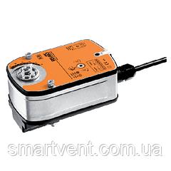 Электроприводы для шаровых клапанов LF24