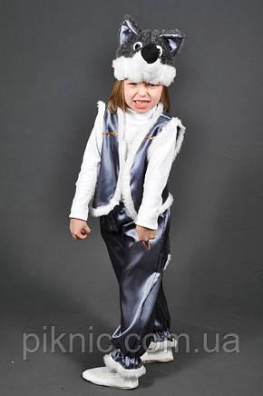 Детский карнавальный костюм Волк для детей 4,5,6,7 лет. Маскарадный костюм Вовк для мальчиков, фото 2