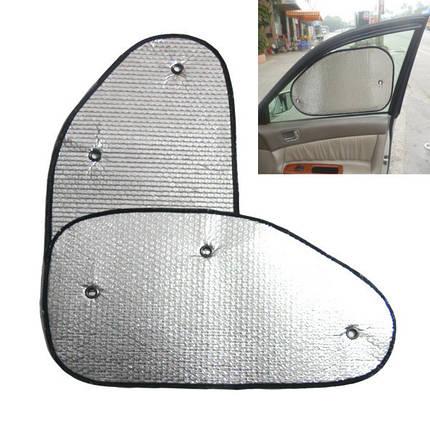 Светоотражающий Авто Боковое окно Алюминиевая фольга Защита от солнечных лучей Солнцезащитный экран - 1TopShop, фото 2