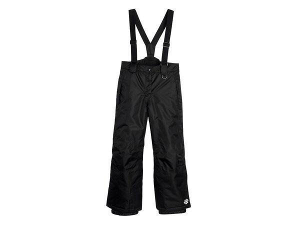 Лыжные  штаны CRIVIT черные р. 122/128см