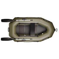 Надувний човен Bark B-210 гребний+слань одномісна