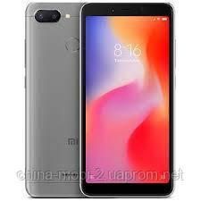 Смартфон Xiaomi Redmi 6 4 64Gb EU Dark Grey, фото 2