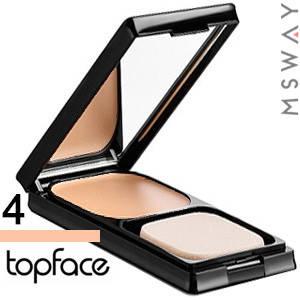 TopFace - Крем-пудра для лица PT-259 2в1 InStyle Тон 04 caramel теплый, фото 2