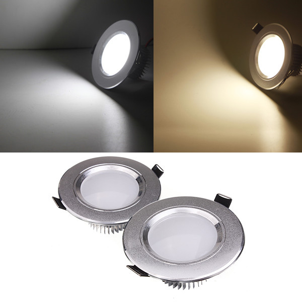 3W LED Потолочный светильник Downlight Лампа 110V Dimmable + Driver - 1TopShop