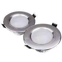 3W LED Потолочный светильник Downlight Лампа 110V Dimmable + Driver - 1TopShop, фото 2
