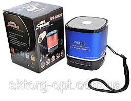 Портативная колонка WSTER WS-236BT  MP3, FM, USB, Bluetooth