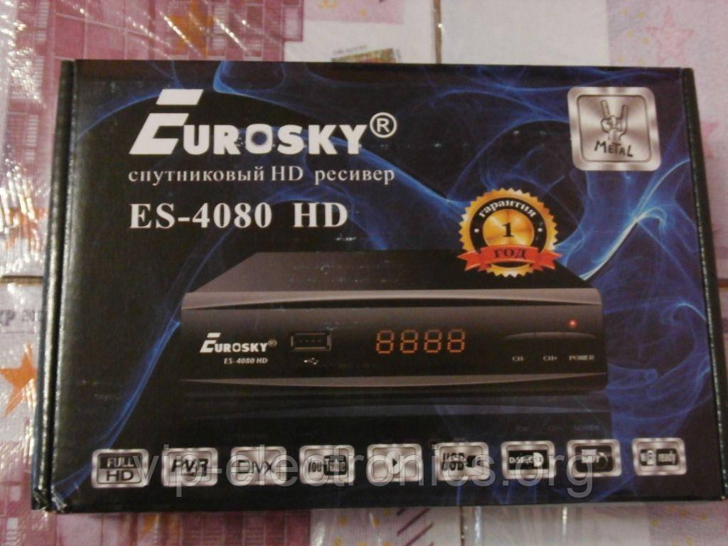 Тюнер Eurosky ES 4080 HD