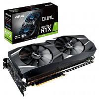 Видеокарта ASUS GeForce RTX2080 8192Mb DUAL OC (DUAL-RTX2080-O8G)