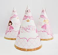 """Колпак праздничный 15 см, """"Литл Принцесс"""""""