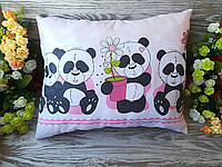 Подушка четыре панды, 42см * 35см