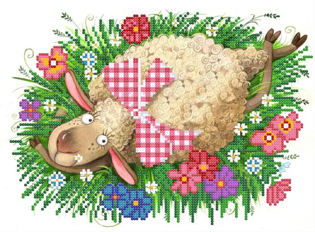 Сб-4-187 Романтичная овечка