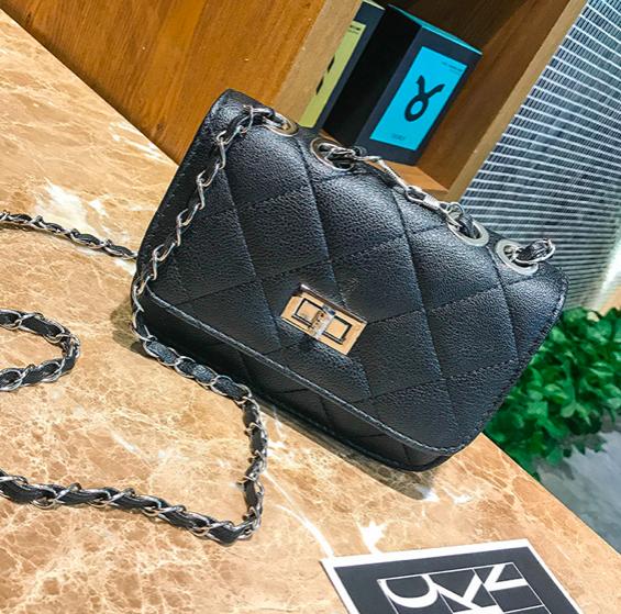 9e23eaac8413 Купить Сумку женскую клатч через плечо в стиле mini Чёрную недорого ...