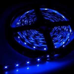 Светодиодная лента smd 2835 60д/м IP20 синий