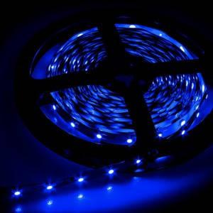 Светодиодная лента smd 2835 60д/м IP20 синий, фото 2
