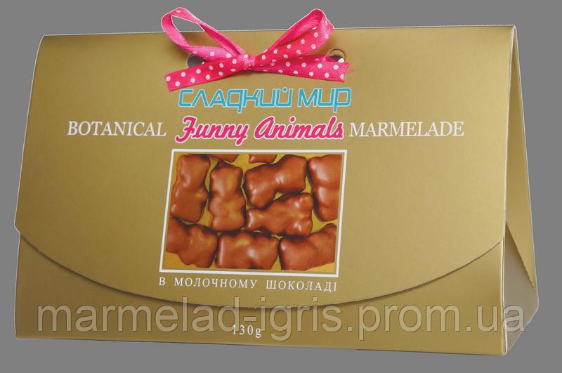 Мармелад в молочном шоколаде