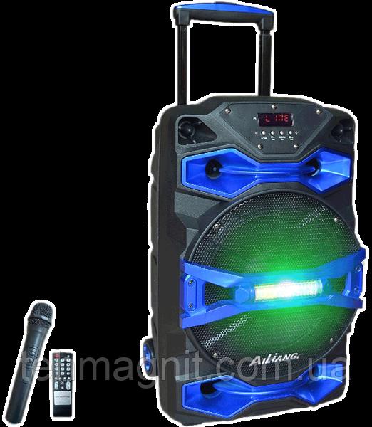 Аккумуляторная акустика AILIANG UF-1618AK-DT портативная колонка с микрофоном( Реплика)