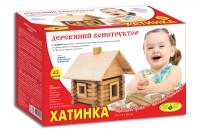 """Деревянный конструктор """"Избушка"""""""