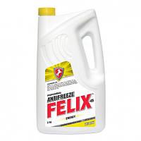 Антифриз Felix Energy G12 желтый-45  5л