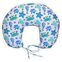 Подушка для кормления Море